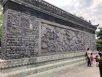 項城市古建磚雕哪家好 藝林瓷磚壁畫供應