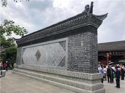 Jiaozuo Fuzi Brick Carving Manufacturer Yilin Tile Mural Supply