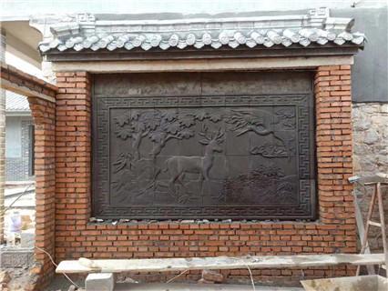 石家庄仿古砖雕哪家好 艺林瓷砖壁画供应