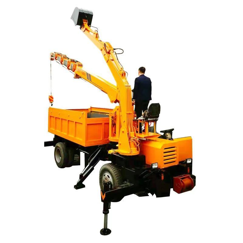 江苏带钩机自卸车随车挖 欢迎来电 济宁市恒泰源工程机械供应