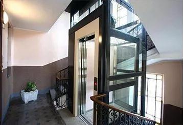 沧州小型别墅龙门架电梯,龙门架电梯