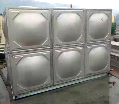 毕节圆形不锈钢水箱厂家 贵阳海翔鑫不锈钢制品供应