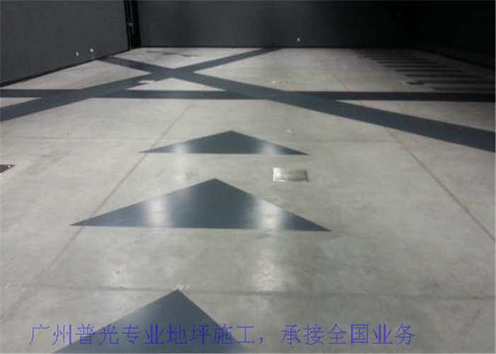 广州高强水泥自流平面层装饰地坪哪里做的好,地坪