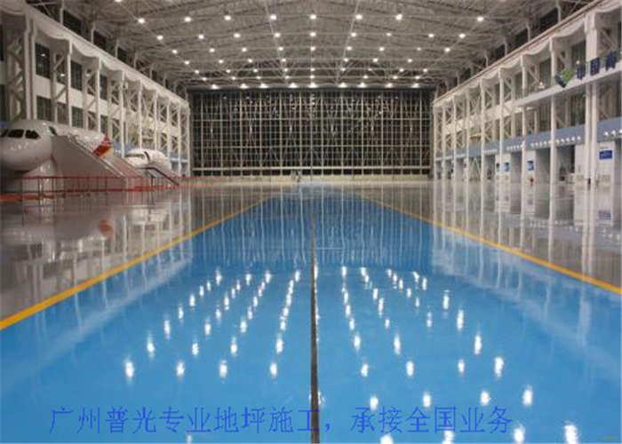 深圳运动馆地坪施工,地坪