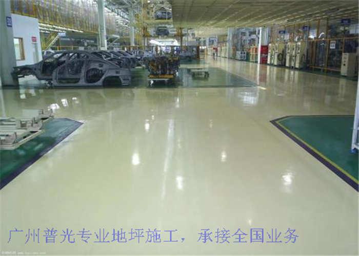 三亚停车场地坪施工队 诚信经营「广州普光装饰供应」