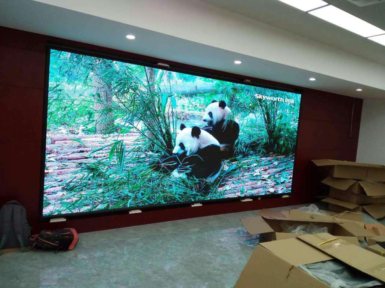 安徽LED透明屏多少钱 和谐共赢 合肥龙发智能科技供应