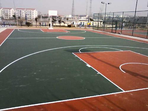 百色优质硅PU篮球场造价 值得信赖「湖北巴腾体育设施供应」