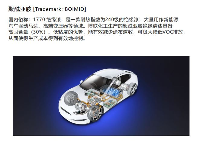 江蘇PI樹脂產品介紹 南通博聯化工供應