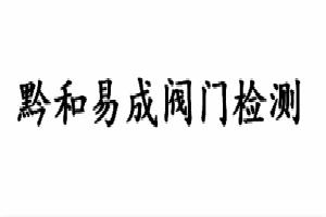 贵州黔和易成阀门检测技术服务有限公司