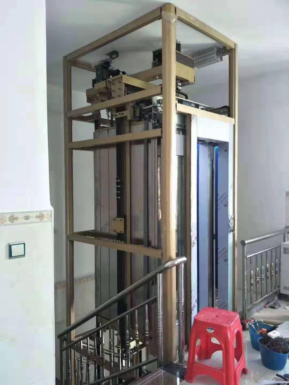 昆山别墅电梯安装,别墅电梯