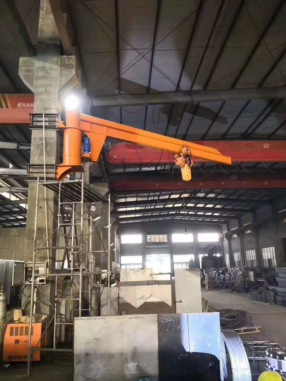 吉林移动式旋臂吊报价 泰安益腾起重机械供应