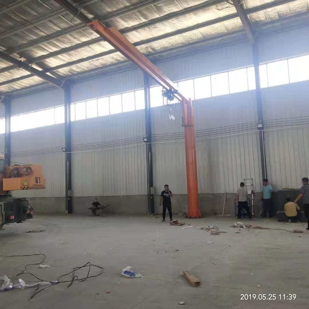 贵州8吨独臂吊哪家好「泰安益腾起重机械供应」