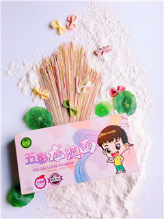 绍兴蝴蝶面学习「淄博阳妈五彩食品供应」
