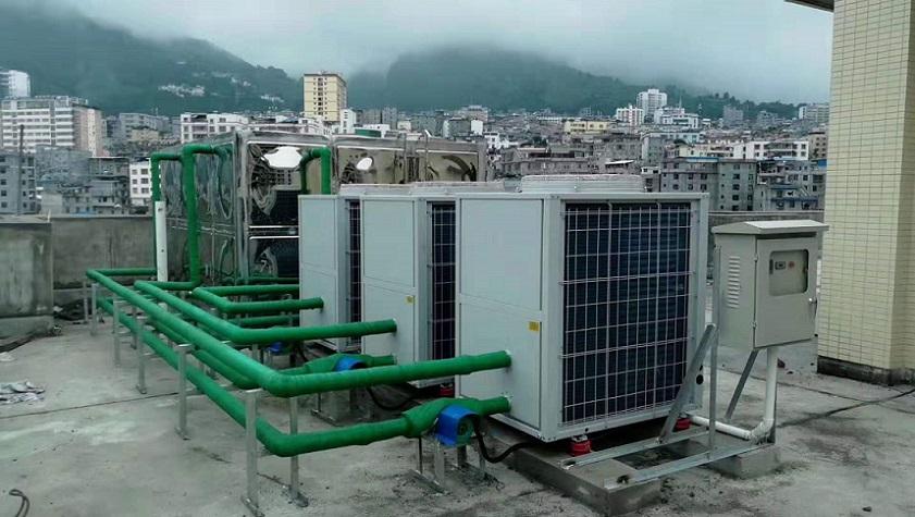 新乡热泵热水工程,热水工程