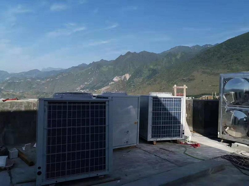 许昌中央热水工程,热水工程