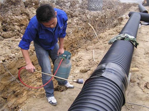 濮阳绿色钢带增强聚乙烯排水管生产厂家,钢带增强聚乙烯排水管