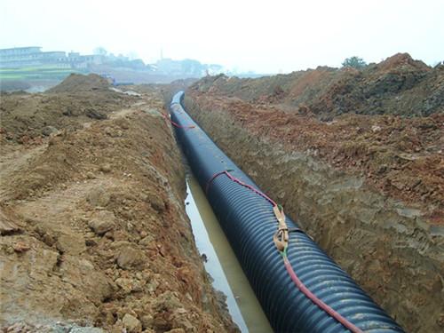 平顶山正规钢带增强聚乙烯排水管,钢带增强聚乙烯排水管