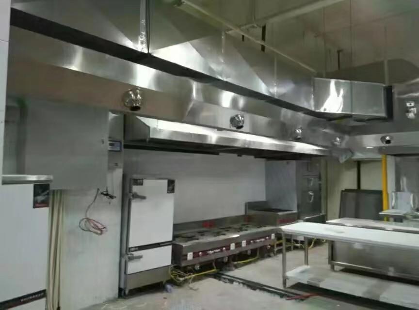 洛阳食堂不锈钢排烟 和谐共赢 河南瑞昇通风设备供应
