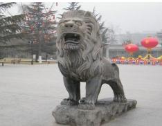 吉林汉白玉石狮子摆放 欢迎来电 嘉祥旭磊石材供应