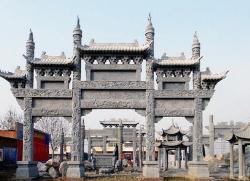 天津公园石牌楼制造厂家 欢迎来电 嘉祥旭磊石材供应