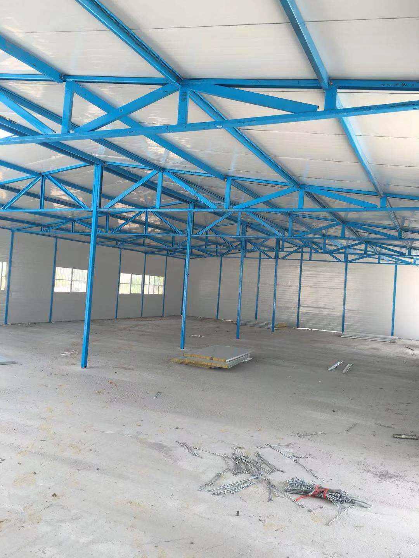 大通区岩棉板活动板房施工 有口皆碑 安徽锦顺钢构供应