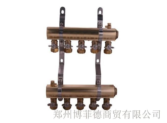 登封per地暖分水器多少钱 值得信赖 郑州博菲德商贸供应