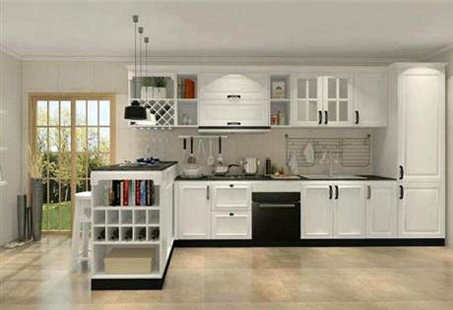 吉利區家用櫥柜多少錢一米「洛陽臻珂家具供應」