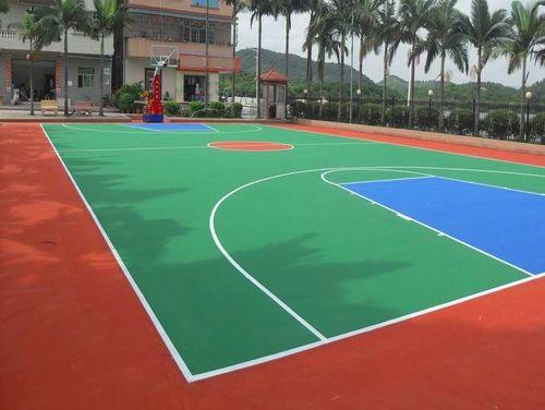 金华远洋硅PU轮滑场招投标「广东省德克瑞环保涂料供应」