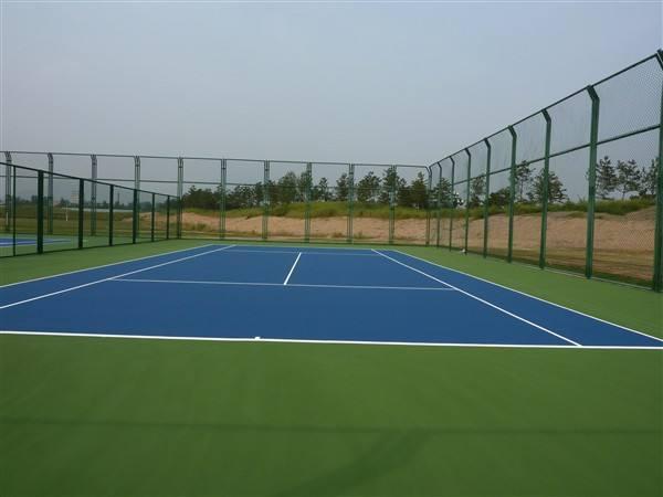 抚顺广州标准硅PU篮球场施工「广东省德克瑞环保涂料供应」