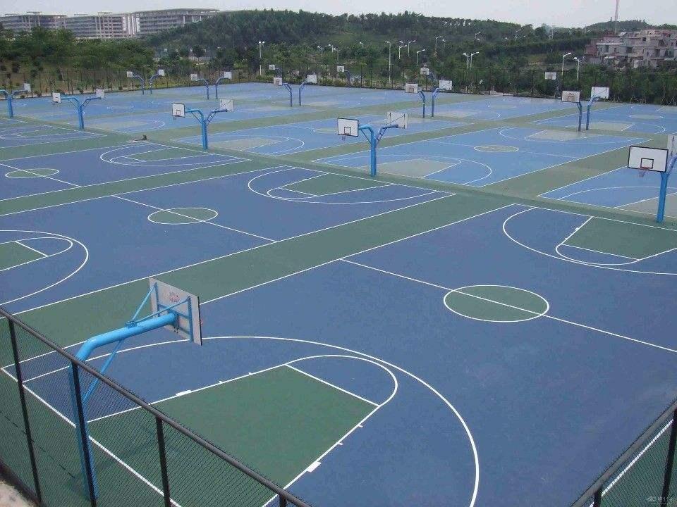 嘉定区德克瑞丙烯酸绿道施工「广东省德克瑞环保涂料供应」