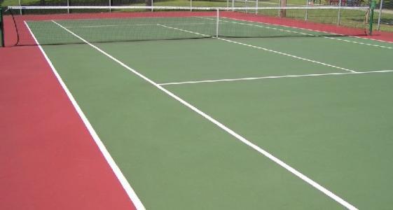 垫江德克瑞丙烯酸网球场施工「广东省德克瑞环保涂料供应」