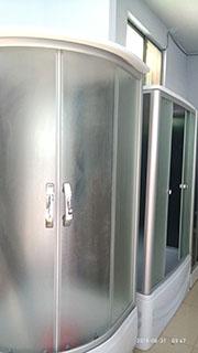 钢化玻璃淋浴房尺寸「淄博学良经贸供应」