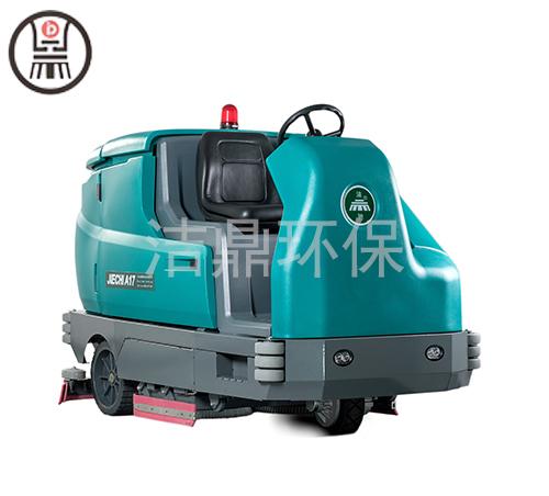 內蒙古手推式洗地車生產廠家 山東潔鼎環保科技供應