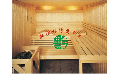 六盘水实木防腐木花架 鑫黔福林供