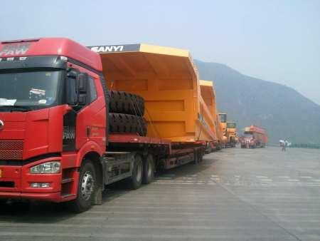 上海至赤峰大型设备货运专线,上海直达物流