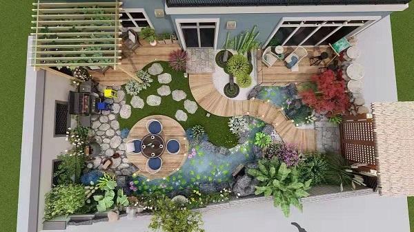 江西知名花园设计施工养护价格,花园设计施工养护