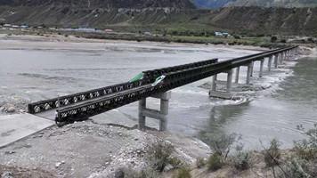 山西建筑装配式公路桥梁打桩机 诚信服务 江苏呈驰钢桥供应