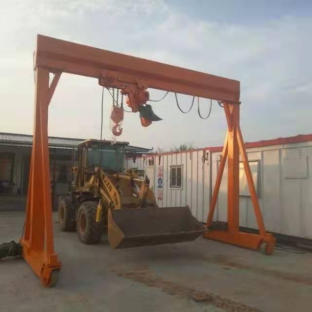 山东5吨龙门架报价 泰安益腾起重机械供应