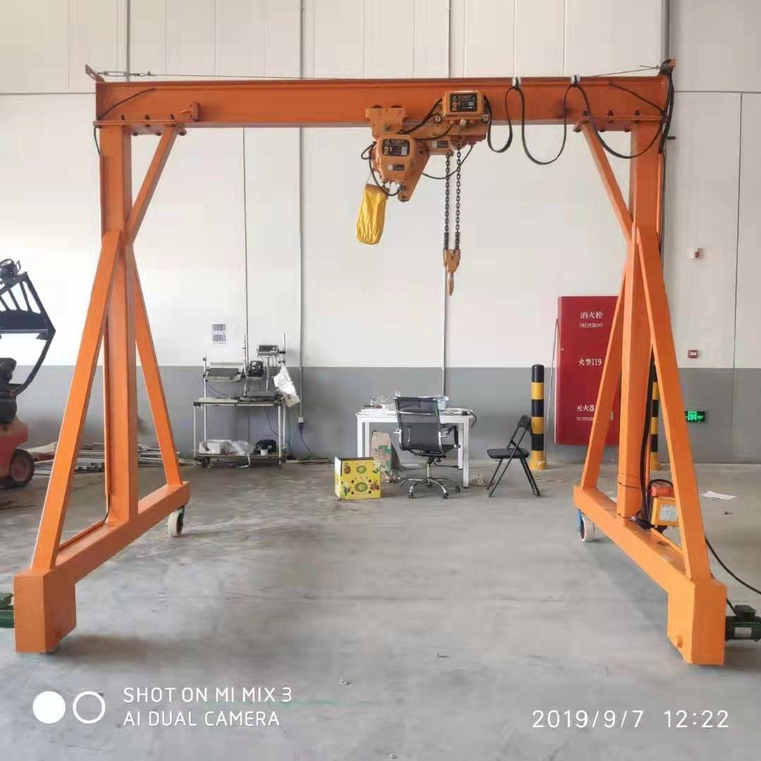 山东手推式龙门架定制 泰安益腾起重机械供应
