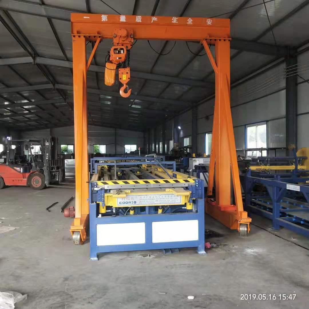 枣庄2t龙门架旋臂吊 泰安益腾起重机械供应