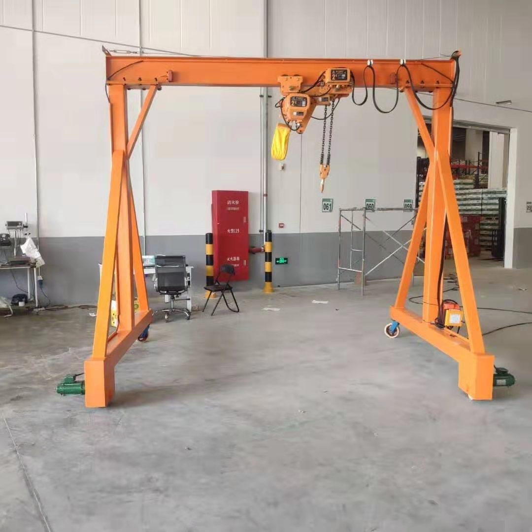 滨州五吨龙门架龙门吊 泰安益腾起重机械供应