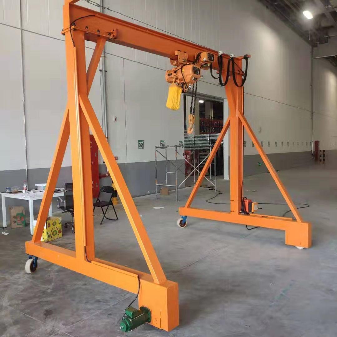 威海一吨龙门架悬臂吊 泰安益腾起重机械供应