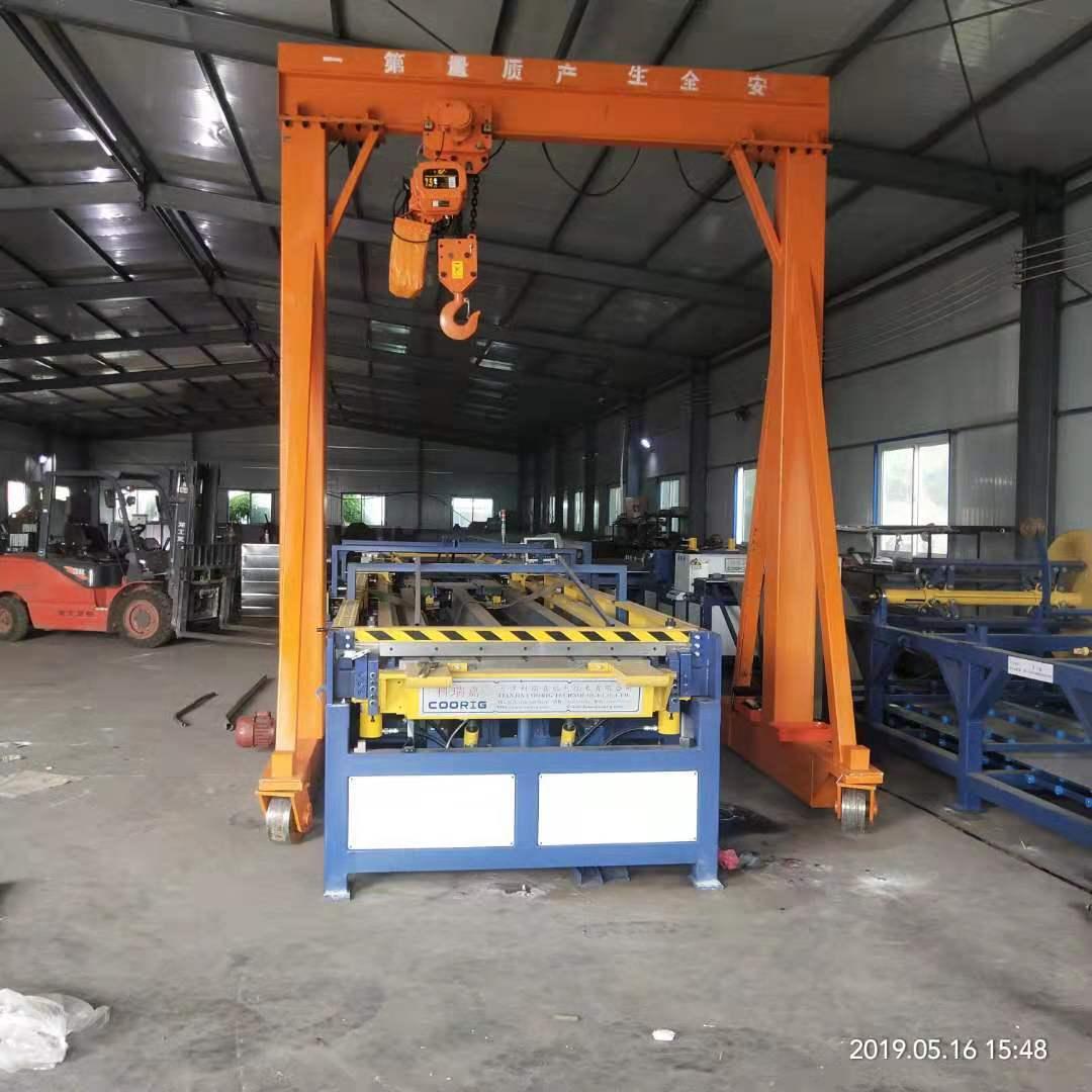 菏泽小型龙门架悬臂吊 泰安益腾起重机械供应