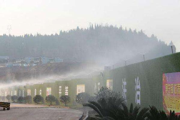福建全自動圍擋噴淋降塵系統 巨鹿縣創達機械制造供應