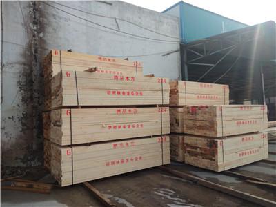 郴州辐射松建筑方木「江西正方木业供应」