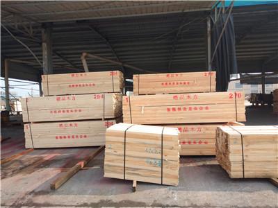 鄂州建筑方木材質「江西正方木業供應」