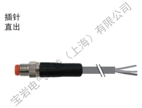 安徽知名M8连接器厂家实力雄厚 值得信赖 上海宝岩电气系统供应
