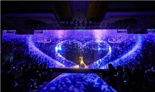 河南展厅全息酒店投影 上海音维电子科技供应
