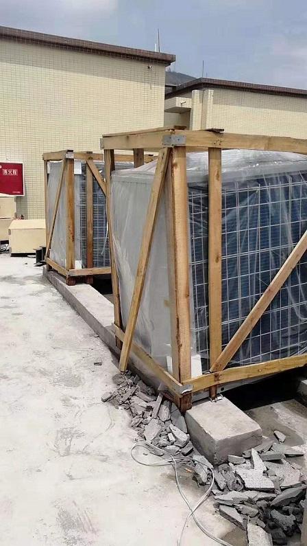 空气能热水工程厂家,热水工程