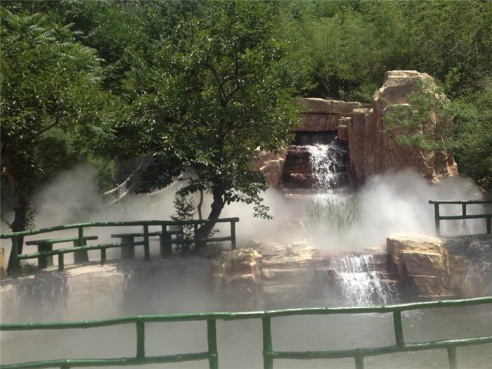 濮阳室外景观造雾系统,雾森设备